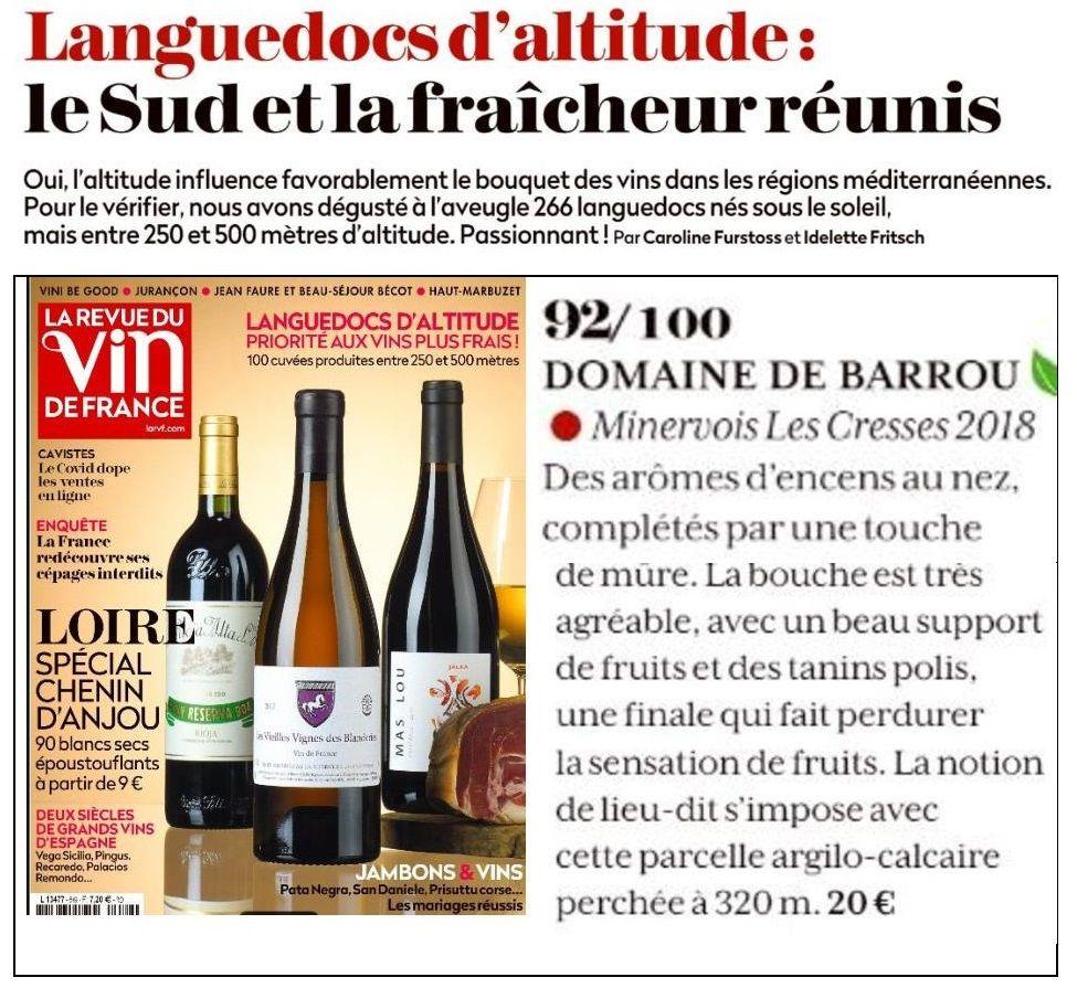 Revue des Vins de France Mars 2021