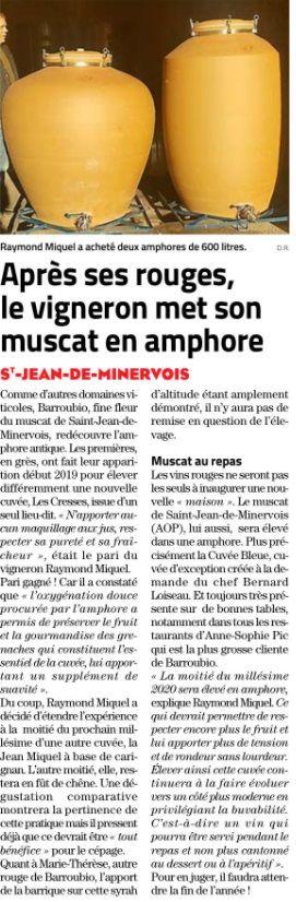 Midi Libre 28 Mai 2021
